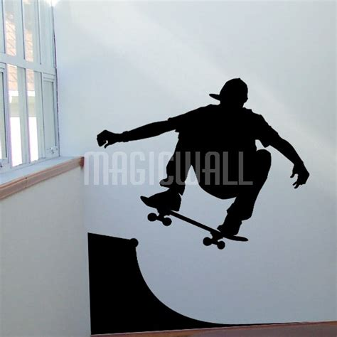 wall stickers boy wall decals skater boy wall stickers