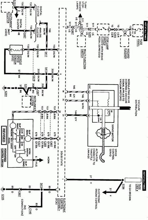 1999 lincoln town car engine diagram