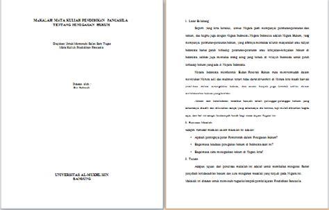 format makalah kuliah contoh makalah pancasila tentang penegakan hukum terbaru