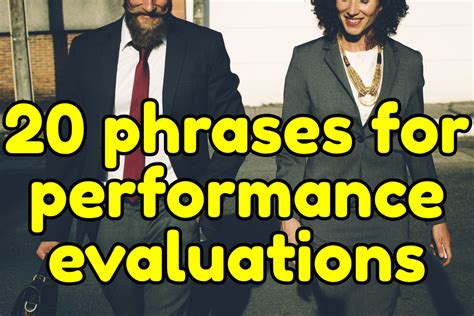 business english phrases  performance evaluations espresso english