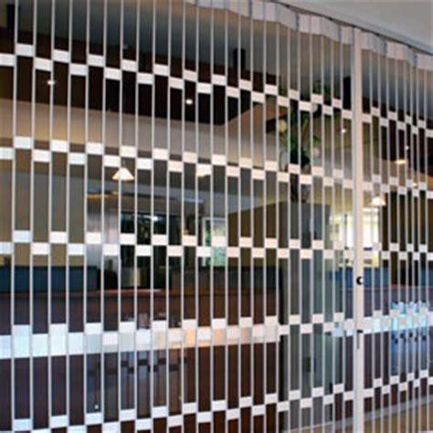 Aluminum curtain grilles quantum security gates