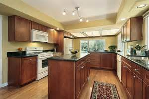 kitchen wall colors with light wood cabinets 43 quot new and spacious quot darker wood kitchen designs amp layouts