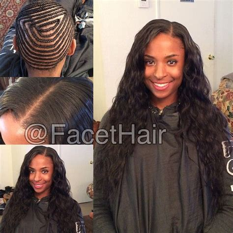 weave no leave out hairstyle brazillian 17 best images about haar ideetjes on pinterest flat