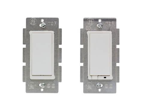 wireless light switch kit ge z wave wireless lighting control 3 way switch kit
