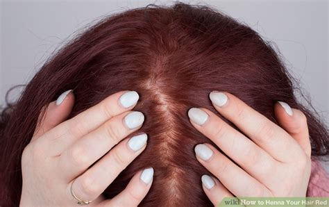 henna  hair red  steps  pictures wikihow