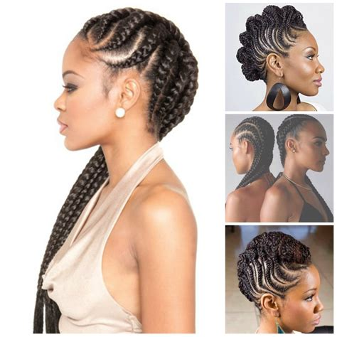 Braid Hairstyles For Black Hair 2017 by Cornrow Braid Styles 2017 Hairstyles Ideas