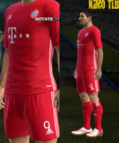 Bayern Munchen Home Jersey 2016 2017 Parley pes 2013 bayern munchen home kits season 2016 2017