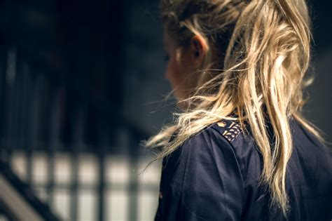 fanny lyckman tutorial blonde ponytail girl hairstylegalleries com