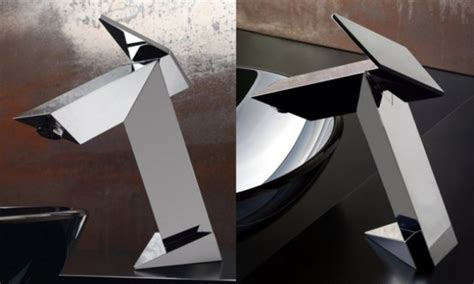 bathroom bomber ultra modern bathroom faucet inspired by stealth bomber