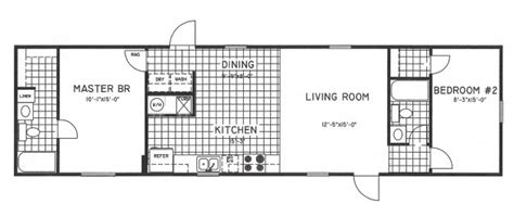 2 bedroom mobile home floor plans 2 bedroom floorplans modular and manufactured homes in ar