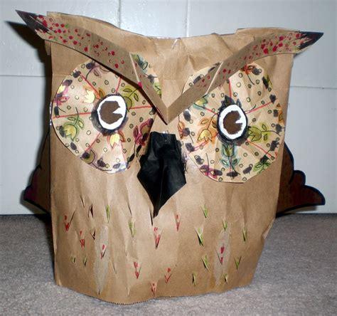How To Make A Paper Bag Owl - paper bag owl by busbi on deviantart