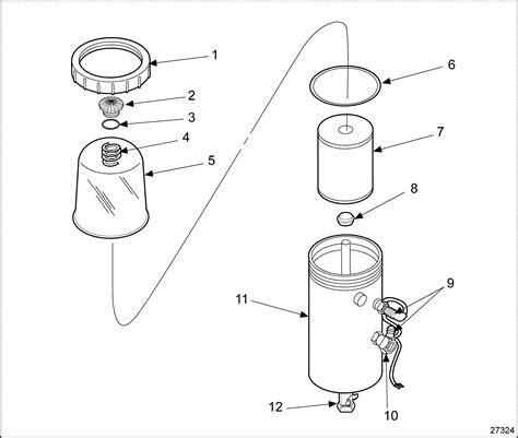 detroit 60 series fuel system diagram series 60 fuel pro 380e fuel processor assembly detroit