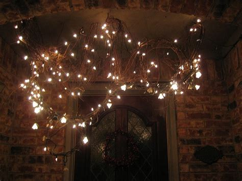 grapevine swag with lights love it craft ideas pinterest