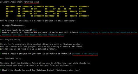membuat database firebase web static dengan firebase hosting codepolitan com
