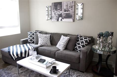 black and gray decor home design
