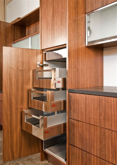 Blum Pull Out Pantry by Innovations From The Cabinet Shop Build