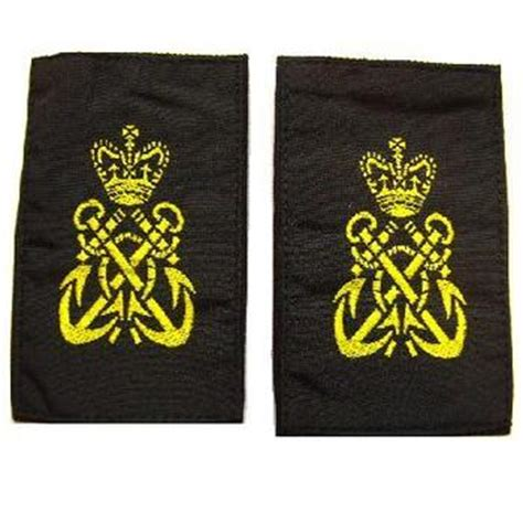 Petty Officer Rank by Royal Navy Petty Officer Rank Slides Pair Surplus And