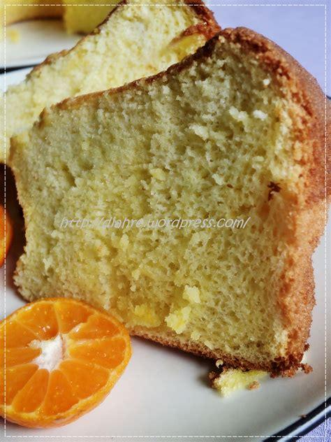 Loyang Bongkar Pasang Murah orange ciffon cake note of my kitchen journey