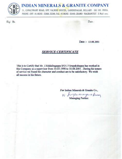 Introduction Letter For Marble Company Noc Letter Format From Society For Verification