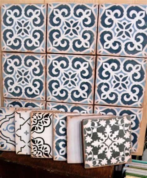 Handmade Tiles Sydney - moroccan tiles sydney artisan vintage tiles black white