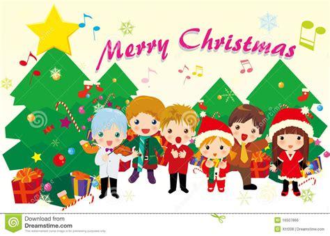 villancicos de la navidad ilustraci 243 n del vector imagen