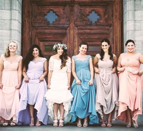 Madeline Pastel Dress 25 best ideas about pastel bridesmaid dresses on