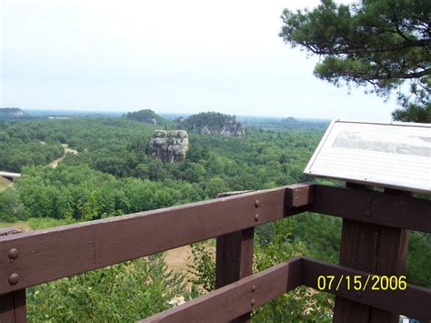 Weather For Dresser Wi by Panoramio Photo Of Mill Bluff State Park Wi