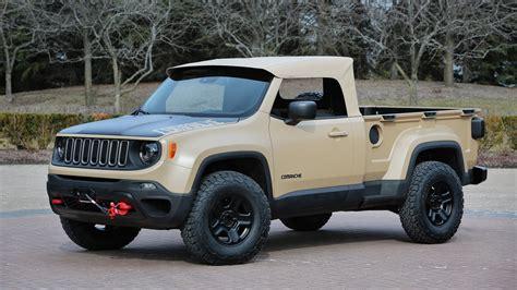 Jeep Comanchie 2016 Jeep Comanche Concept Picture 669257 Truck Review