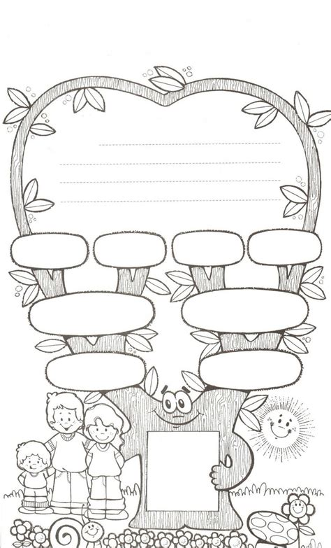 11 Best Images About Family Printables On Pinterest International Tree Coloring Page