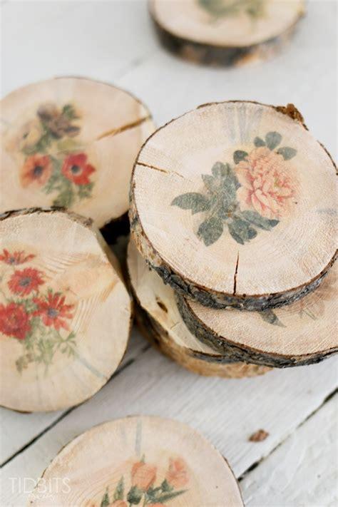 Transfer Paper For Wood Crafts - botanical wood slices tutorial easy diy image transfer