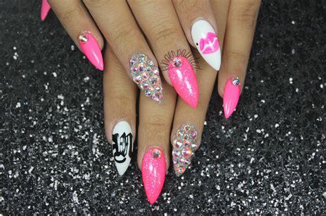 Stiletto Nail Designs 2013