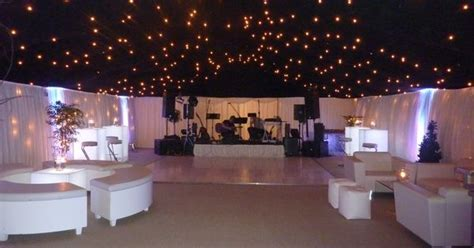 chill zone marquee perfect  night time   wedding