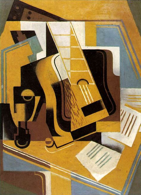 cubist paintings theguitarbyjaungris jpg