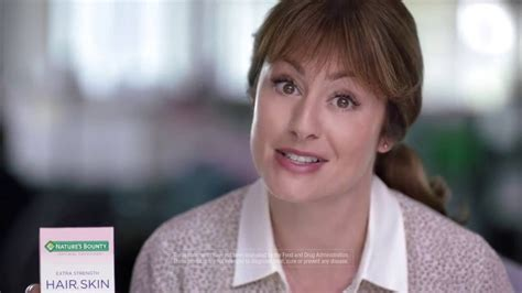 aflac commercial hair actress nature s bounty ad hair skin nails 30 model spot youtube