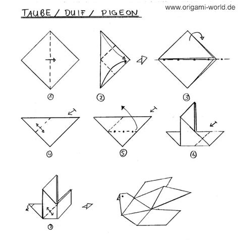 Simple Origami Birds - simple origami for 1 bubu