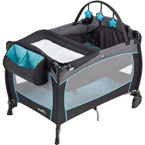Playard With Changing Table Portable Baby Crib Playard With Nursery Changing Table Bassinet Pack