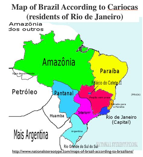map usa brazil regional stereotypes in brazil geocurrents