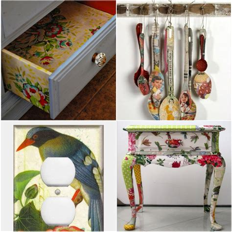 Decoupage Items - decoupage medium one step by sloan attic door