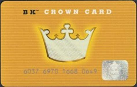 Bk Crown Card Gift Card - gift card bk crown card burger king united states of america burger king col us