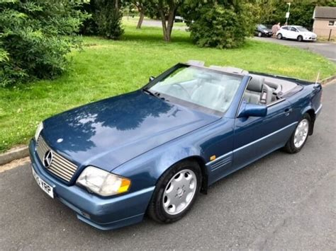 online service manuals 1993 mercedes benz 500sl engine control mercedes benz sl 500 sl500 500sl r129 1993 great condition long mot comprehensive history