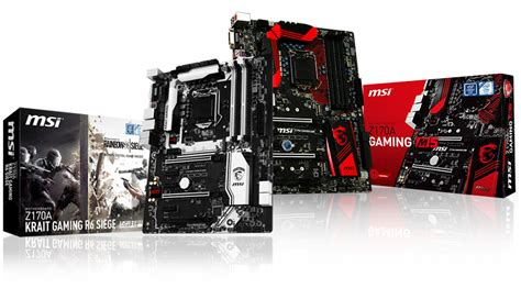 Mainboard Msi Z170a Krait Gaming R6 Siege Atx Lga 1151 1 msi partners with ubisoft to create special edition motherboards lowyat net