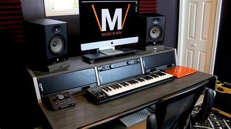 ultimate home studio desk youtube