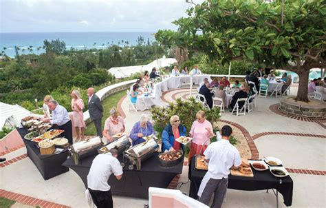 focus on venue horizons and cottages bermudian weddings