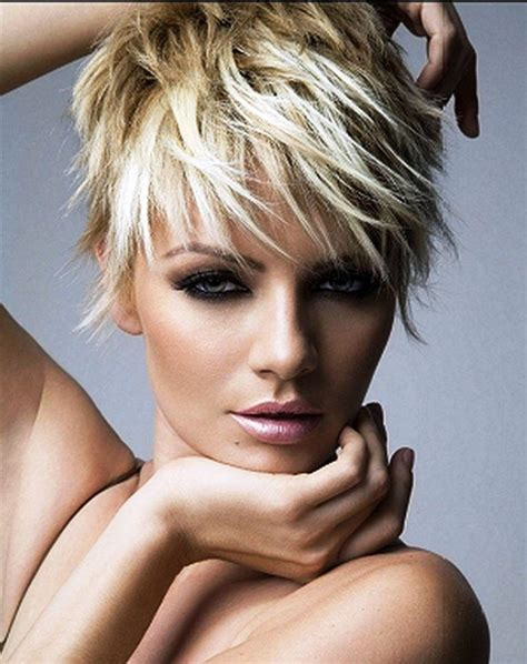 hairstyles for short hair short choppy hairstyles fitfru style