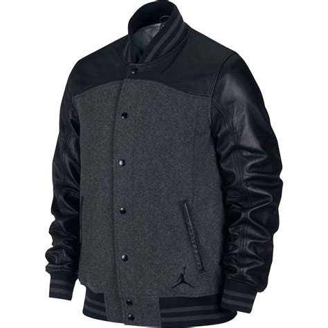 Baseball Jackrt Blackstar Ori Black Grey nike air leather jacket black grey sz large 614685 071 msrp 450 00 ebay
