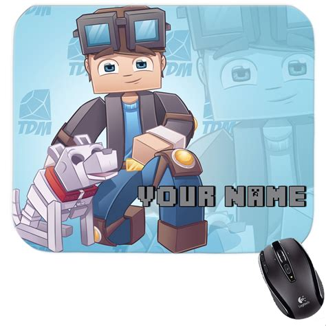 Mousepad Dan Mouse minecraft dan tdm dantdm