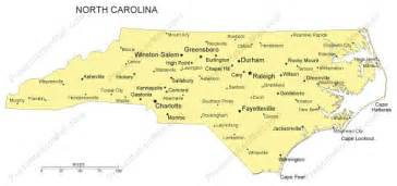 map carolina major cities nc cit lg