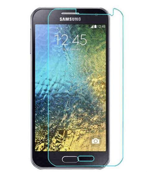 Tempered Glass E7 samsung galaxy e7 tempered glass screen guard by mercator buy samsung galaxy e7 tempered glass