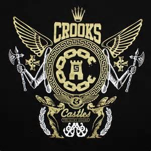 crooks amp castles high society mens t shirt streetwear blog