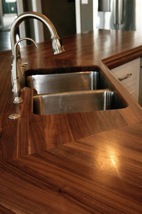 walnut countertops wood countertop butcherblock and bar